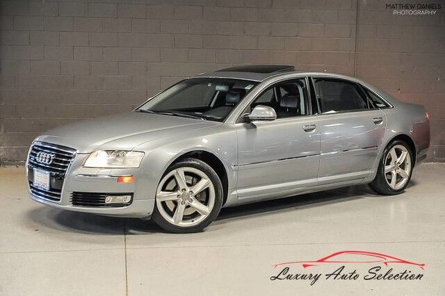 2009_Audi_A8 L 4.2L Quattro_4dr Sedan_ Chicago IL