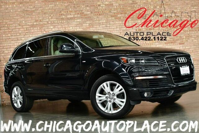 2009 Audi Q7 TDI Premium Plus - QUATTRO 3.0L TDIRECT-INJECTION 6-CYL DIESEL ENGINE ALL WHEEL DRIVE NAVIGATION BACKUP CAMERA PARKING SENSORS PANO ROOF 3RD ROW POWER LIFTGATE BOSE AUDIO Bensenville IL