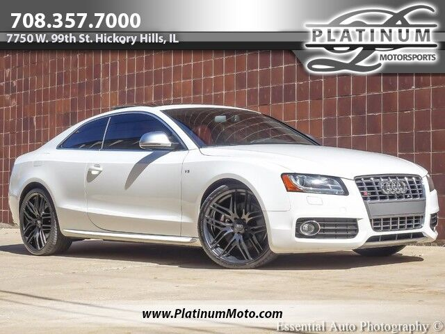 2009 Audi S5 AWD Audi Drive Select Pkg Tech Pkg Red Leather Hickory Hills IL