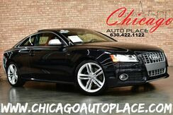 2009_Audi_S5_Coupe - 4.2L FSI V8 ENGINE 6-SPEED MANUAL ALL WHEEL DRIVE 1 OWNER MAGMA RED LEATHER NAVIGATION BACKUP CAMERA HEATED SEATS KEYLESS GO_ Bensenville IL