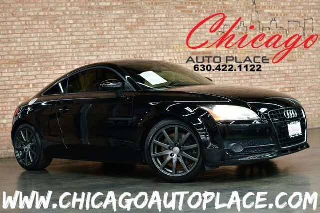 2009 Audi Tt 32 Prestige Audi Exclusive Quattro 32l V6 Engine 6 Speed Manual Transmission 2 Tone Blackred Leather Navigation Xenons Premium Gray