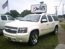 CHEVROLET SUBURBAN 1500 LTZ 4X4, AUTOCHECK CERTIFIED, LEATHER, NAVIGATION, DVD, TOW PKG, SUNROOF, ONLY 39K MILES! 2009