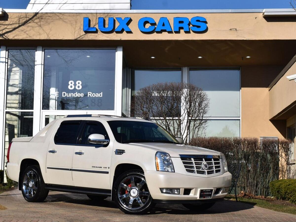 2009_Cadillac_Escalade EXT Nav Rear DVD_AWD 4dr_ Buffalo Grove IL