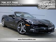 2009_Chevrolet_Corvette Convertible_2 Owner Auto 1 of 560 Triple Black Chrome Rims Power Top_ Hickory Hills IL