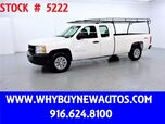 2009 Chevrolet Silverado 1500 ~ 4x4 ~ Extended Cab ~ Only 61K Miles!
