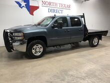 2009_Chevrolet_Silverado 2500HD_FREE HOME DELIVERY! LT 4x4 Diesel Flatbed Touch Screen Keyless_ Mansfield TX