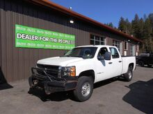 2009_Chevrolet_Silverado 2500HD_Work Truck Crew Cab Std. Box 4WD_ Spokane Valley WA