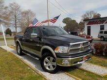 2009_DODGE_RAM_1500 LARAMIE CREW CAB 4X4, WARRANTY, LEATHER, SUNROOF, NAV, HEATED/COOLED SEATS, RUNNING BOARDS,A/C!_ Norfolk VA