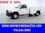 2009 Dodge Ram 3500 ~ 4x4 ~ Utility ~ Top Boxes ~ Only 50K Miles!