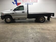 2009_Dodge_Ram 3500_ST 4x4 Diesel Aisin Dually Flatbed Regular Cab Only 75K_ Mansfield TX