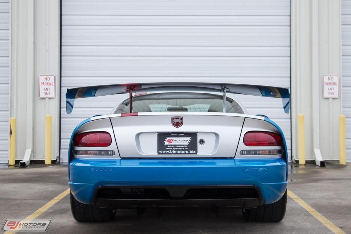 2009 Dodge Viper SRT 10 VCA Raffle Car 1 of 1 Tomball TX