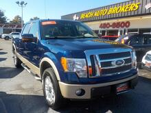 2009_FORD_F-150_LARIAT 4X4, BUYBACK GUARANTEE, WARRANTY, FX4 PKG, BACKUP CAM, LEATHER, HEATED SEATS, REMOTE START!_ Norfolk VA