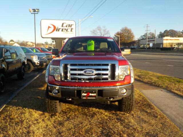 2009 FORD F-150 XLT 4X4, BUY BACK GUARANTEE AND WARRANTY, SAT RADIO, BLUETOOTH, LIFTED, BED LINER, ONLY 72K MILES!! Virginia Beach VA