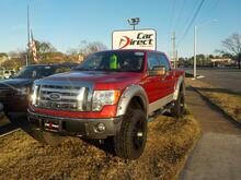 2009_FORD_F-150_XLT 4X4, BUY BACK GUARANTEE AND WARRANTY, SAT RADIO, BLUETOOTH, LIFTED, BED LINER, ONLY 72K MILES!!_ Virginia Beach VA
