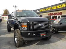 2009_FORD_F-350_SUPER DUTY HARLEY DAVIDSON 4X4, CERTIFIED W/WARRANTY, LEATHER, LIFTED, ONLY 50K MILES, WHAT A BEAST!_ Norfolk VA