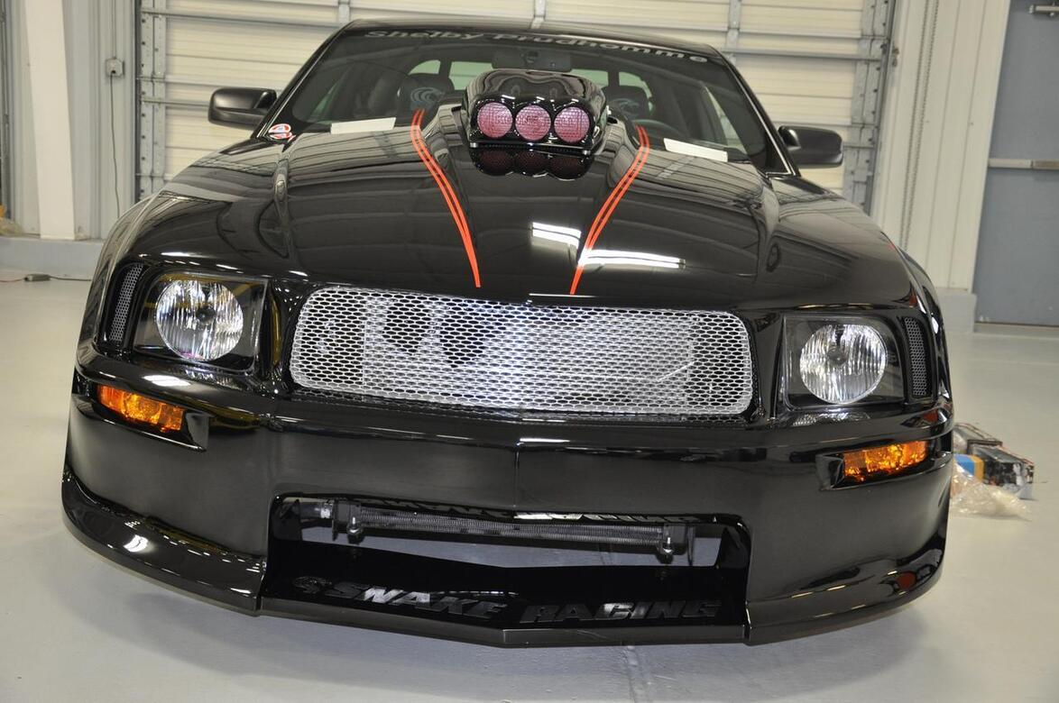 2009 Ford Mustang Prudhomme Supersnake Shelby GT500 Supersnake Prudhomme Tomball TX