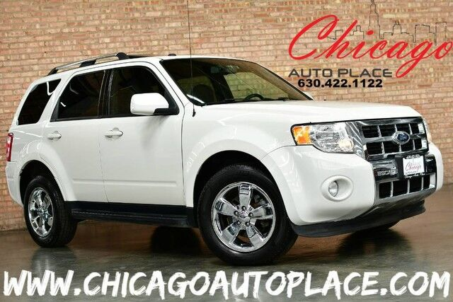 2009 Ford Escape Limited - 3.0L SEFI DURATEC V6 ENGINE 4 WHEEL DRIVE NAVIGATION PARKING SENSORS BLACK LEATHER HEATED SEATS SUNROOF DUAL ZONE CLIMATE MICROSOFT SYNC Bensenville IL