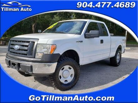 2009_Ford_F-150_XL SuperCab 6.5-ft. Bed 4WD_ Jacksonville FL