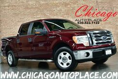 2009_Ford_F-150_XLT SUPERCREW - 4.6L V8 ENGINE REAR WHEEL DRIVE GRAY CLOTH MICROSOFT SYNC CLIMATE CONTROL_ Bensenville IL