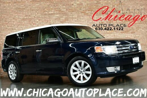 2009 Ford Flex Limited AWD - 3.5L V6 DURATEC ENGINE ALL WHEEL DRIVE NAVIGATION BACKUP CAMERA 3RD ROW PANO ROOF REAR TV'S SONY AUDIO XENONS Bensenville IL