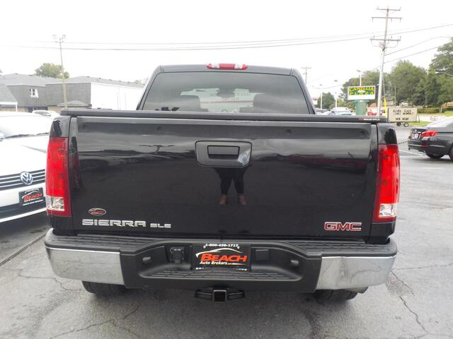 2009 GMC SIERRA SLE CREW CAB, BUYBACK GUARANTEE,WARRANTY, LEATHER, HARD TONNEAU COVER, SATELLITE RADIO, TOW PKG! Norfolk VA