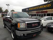 2009_GMC_SIERRA_SLE CREW CAB, BUYBACK GUARANTEE,WARRANTY, LEATHER, HARD TONNEAU COVER, SATELLITE RADIO, TOW PKG!_ Norfolk VA