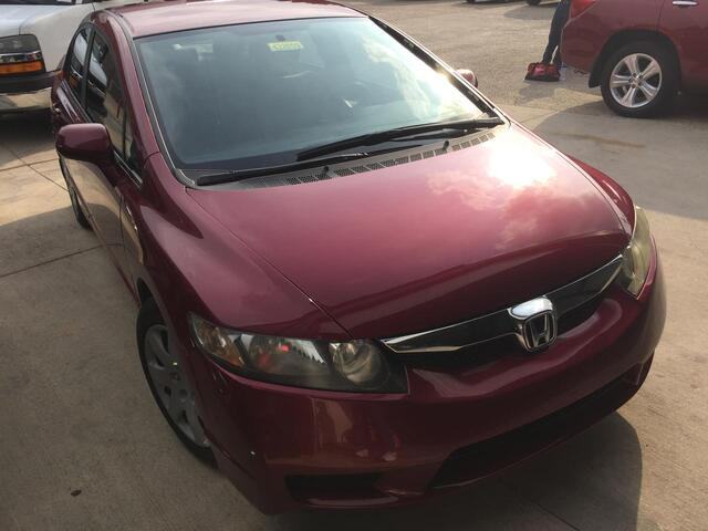 2009 Honda Civic LX Sedan 5-Speed AT Austin TX