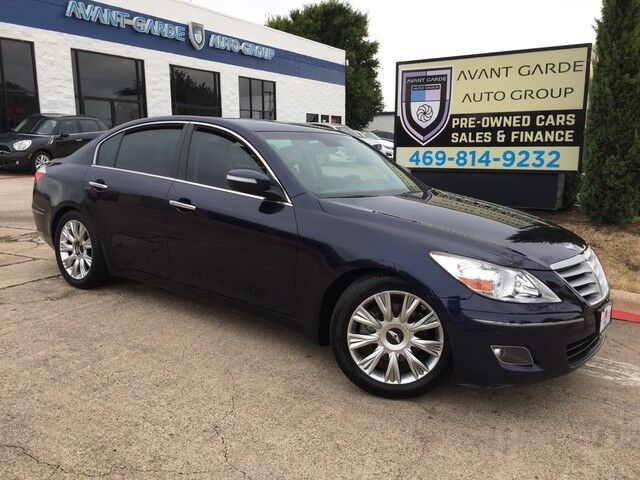 2009 Hyundai Genesis NAVIGATION REAR VIEW CAMERA, LEXICON AUDIO, HEATED LEATHER, SUNROOF!!! FULLY LOADED!!! VERY CLEAN!!! Plano TX