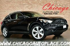 2009_INFINITI_FX50_S - 5.0L DOHC V8 ENGINE ALL WHEEL DRIVE BLACK LEATHER HEATED/COOLED SEATS NAVIGATION TOP VIEW CAMERAS KEYLESS GO SUNROOF WOOD GRAIN INTERIOR TRIM XENONS_ Bensenville IL