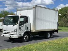 2009_Isuzu_NPR_14' Box Truck with Power Liftgate_ Crozier VA