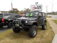 2009_JEEP_WRANGLER_RUBICON 4X4, BUY BACK GUARANTEE & WARRANTY, OFF ROAD TIRES, GRILL GUARD, TOW PKG, ONLY 47K MILES!_ Virginia Beach VA