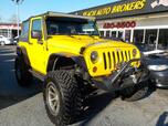 2009 JEEP WRANGLER RUBICON 4X4, BUYBACK GUARANTEE, MANUAL, LIFTED, BLUETOOTH, A/C, RUNNING BOARDS, AUX PORT, AWESOME!!!