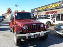 JEEP WRANGLER SAHARA UNLIMITED 4X4, BUYBACK GUARANTEE, WARRANTY, 1 OWNER, HARD TOP, SIRIUS RADIO,LOW MILES! 2009