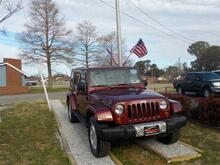 2009_JEEP_WRANGLER_SAHARA UNLIMITED 4X4, WARRANTY, RUNNING BOARDS, TOW PKG, SIRIUS RADIO, AUX PORT, 1 OWNER, LOW MILES!_ Norfolk VA