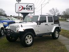 JEEP WRANGLER UNLIMITED SAHARA 4X4, AUTOCHECK CERTIFIED, HARD TOP, RUNNING BOARD, TOW PKG, NAVI, ONLY 78K MILES 2009