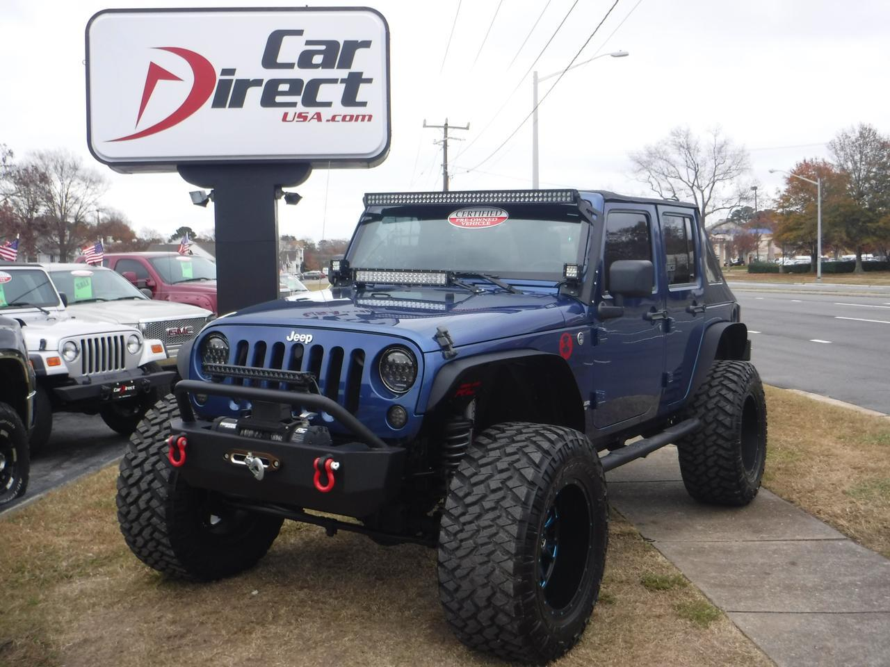 2009 Jeep Wrangler Unlimited Sahara 4x4 Rough Country