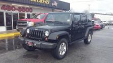 JEEP WRANGLER UNLIMITED X 4X4, CARFAX CERTIFIED, HARD TOP, PREMIUM SOUND, RUNNING BOARDS, ONE OWNER, ONLY 38K MILES! 2009