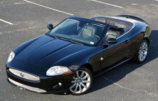 2009_Jaguar_XK Series_Convertible_ Fort Worth TX