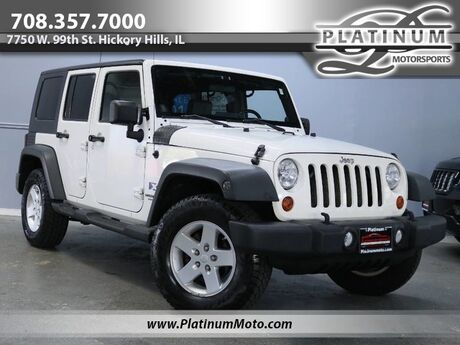 2009 Jeep Wrangler Unlimited X 4WD Hickory Hills IL