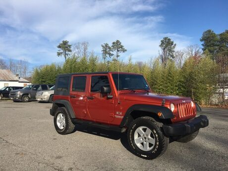 2009 Jeep Wrangler Unlimited X 4x4 Richmond VA