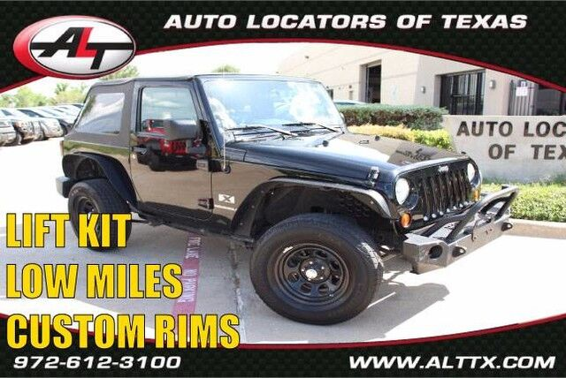 2009 Jeep Wrangler X with LIFT and RIMS Plano TX