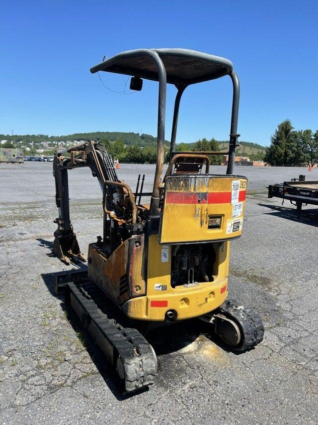 2009 John Deere 17DZTS Mini Excavator  Crozier VA