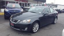 LEXUS IS 250 CARFAX CERTIFIED, SATELLITE, SUNROOF, HEATED LEATHER SEATS, PARKING SENSORS, ONLY 62K MILES! 2009