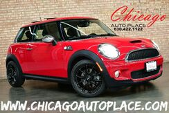 2009_MINI_Cooper Hardtop_S - 1.6L TURBOCHARGED I4 ENGINE KEYLESS GO PARKING SENSORS HEATED SEATS PANO ROOF BLUETOOTH XENONS BLACK CLOTH SPORT SEATS W/ RED INSERTS_ Bensenville IL