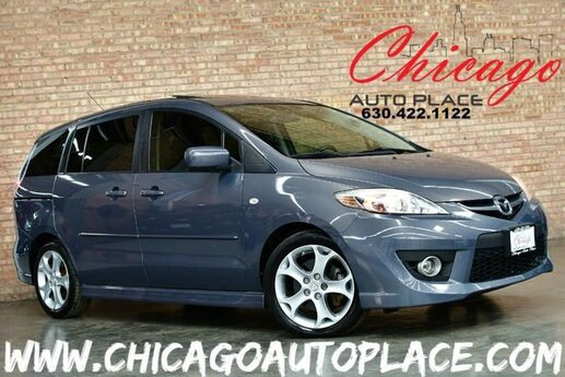 2009 Mazda Mazda5 Touring - 2.3L I4 ENGINE FRONT WHEEL DRIVE BLACK CLOTH 3RD ROW SEATING CLIMATE CONTROL PROJECTOR HEADLAMPS Bensenville IL