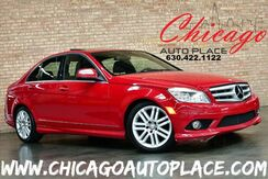 2009_Mercedes-Benz_C 300_4MATIC Sport - 3.0L V6 ENGINE ALL WHEEL DRIVE BLACK LEATHER HEAT_ Bensenville IL