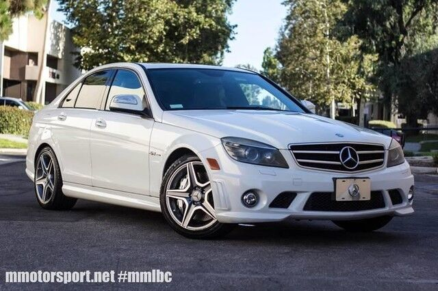 2009_Mercedes-Benz_C-Class_6.3L AMG_ Long Beach CA