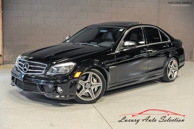 2009_Mercedes-Benz_C63 AMG_4dr Sedan_ Chicago IL