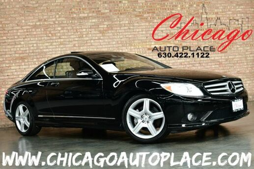 2009 Mercedes-Benz CL 550 4MATIC - 5.5L V8 ENGINE ALL WHEEL DRIVE NAVIGATION BACKUP CAMERA NIGHT VISION KEYLESS GO SUNROOF HARMAN/KARDON AUDIO HEATED/COOLED SEATS XENONS Bensenville IL