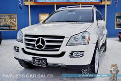2009_Mercedes-Benz_GL550_4Matic AWD / 5.5L V8 / Power & Heated Leather Seats / Heated Steering Wheel / Navigation / Sunroof / Power 3rd Row / Seats 7 / Rear DVD / Harman Kardon Speakers / Bluetooth / Back-Up Camera / Only 71k Miles / Tow Pkg / 1-Owner_ Anchorage AK